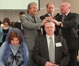 рукоположение братьев в колодищах