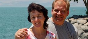 Брутский с женой
